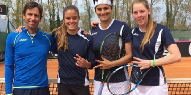 Fed Cup: Ένα βήμα πριν από την άνοδο